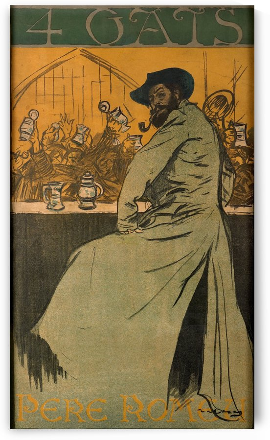 Four Gats by Ramon Casas i Carbo