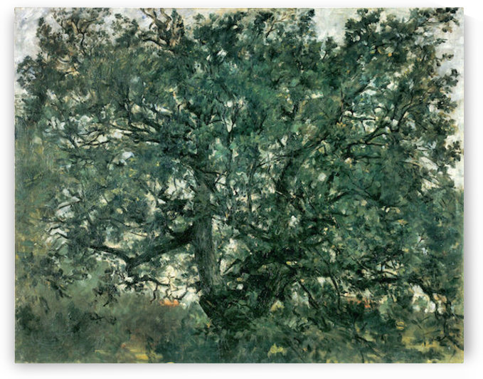 Tree by Lovis Corinth by Lovis Corinth