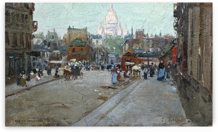 Montmartre by Ramon Casas i Carbo