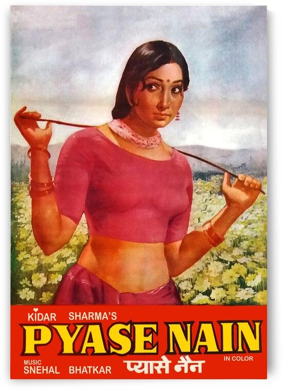 Indian Vintage Movie Poster by vintagesupreme