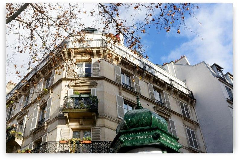 Haussmannian architecture by Hassan Bensliman
