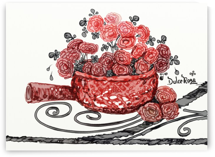 Red Boho Collection2  by DulceRosa Gallery