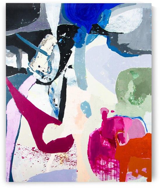 Abstract Full Color VI by Daniella Broseghini