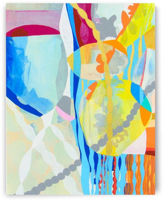Abstract Color IV by Daniella Broseghini