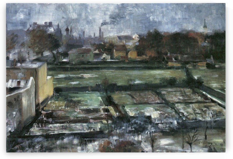 View from the studio by Lovis Corinth by Lovis Corinth