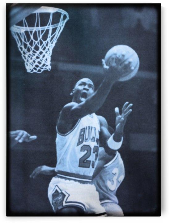 Michael Jordan Viewfinder Art by Row One Brand