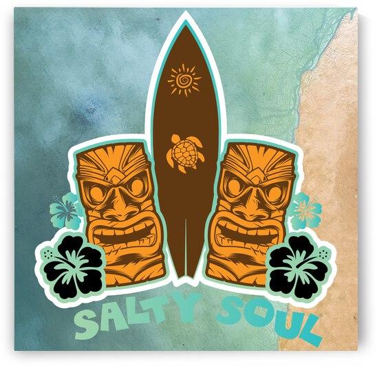 Salty Soul Tiki Beach by Snowy Mountain Traders
