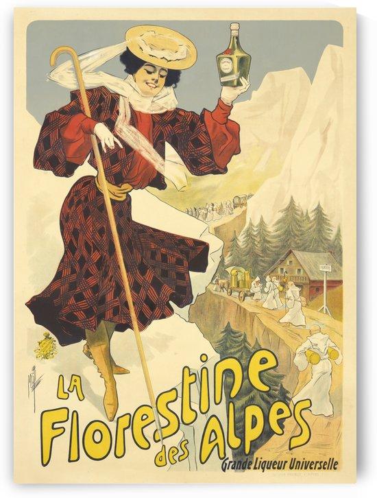 La Florestine des Alpes by VINTAGE POSTER