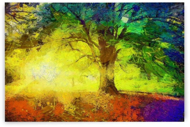 Autumn oil painting in Vincent Willem van Gogh style. 3 by ArtEastWest