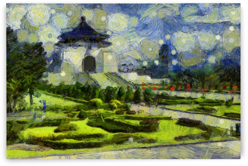 Taiwan oil painting in Vincent Willem van Gogh style.  51 by ArtEastWest