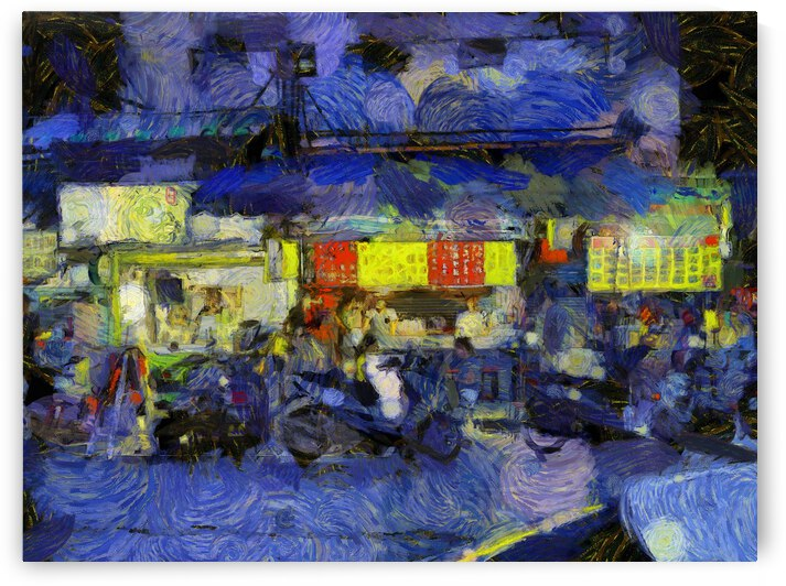 Taiwan oil painting in Vincent Willem van Gogh style. 49 by ArtEastWest
