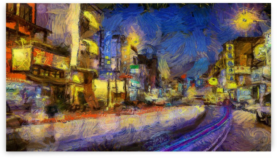 Taiwan oil painting in Vincent Willem van Gogh style. 57 by ArtEastWest