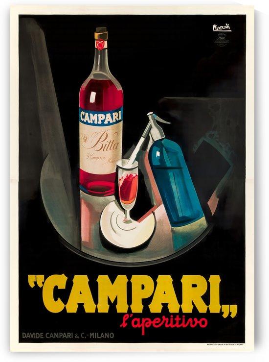 Campari Original Vintage Poster by VINTAGE POSTER