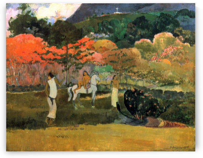 Women and Mold by Gauguin by Gauguin