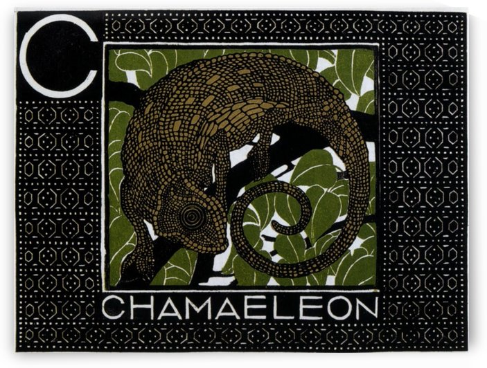 Chamaeleon Original Vintage Poster by VINTAGE POSTER