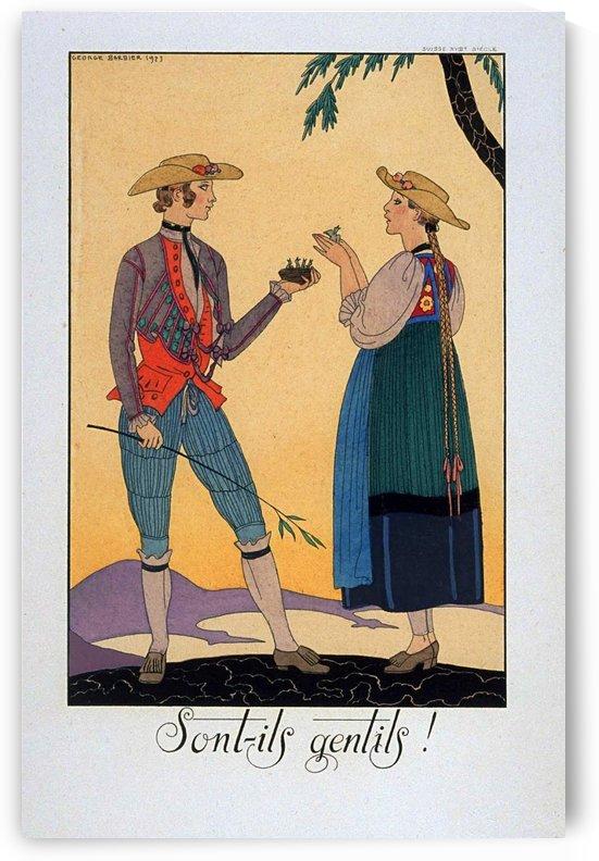 Sont ils gentils vintage poster by VINTAGE POSTER