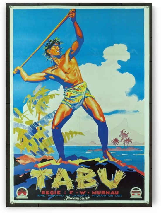 1931 Tabu poster by VINTAGE POSTER