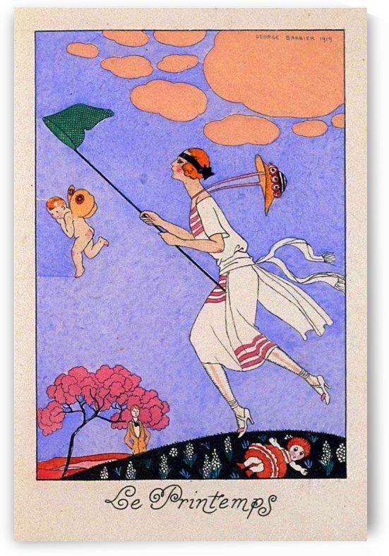 Le Printemps 1919 original vintage poster by VINTAGE POSTER