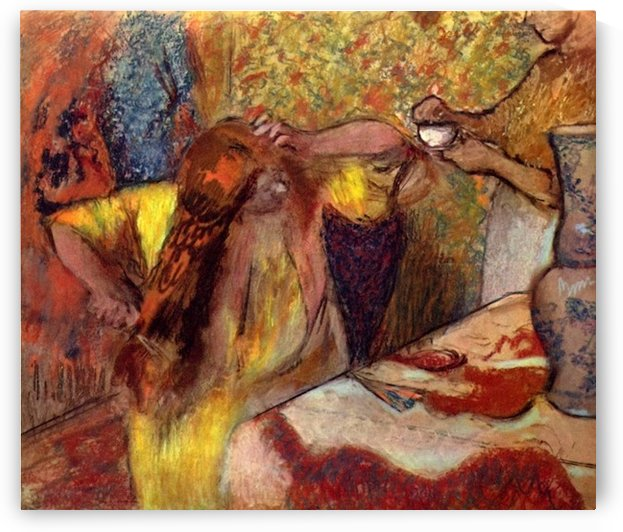 Women at the toilet 1 by Degas by Degas
