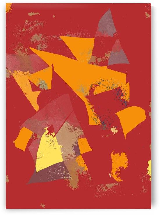 Red Orange Yellow by CL Hansen