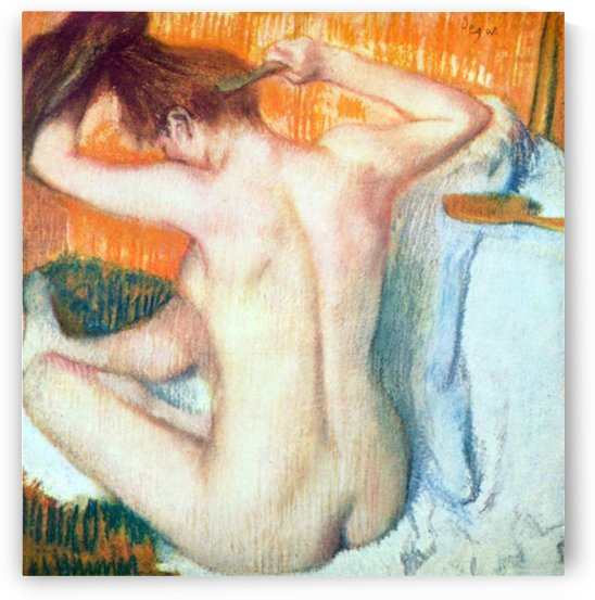 Women at the toilet 2 by Degas by Degas