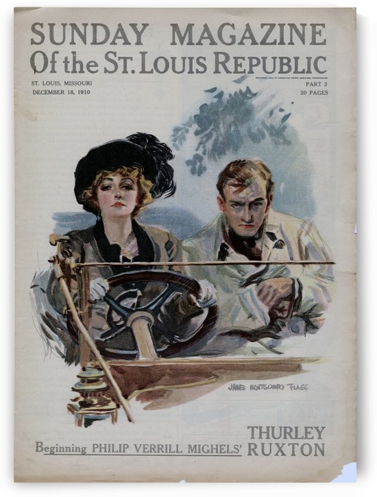 Sunday Magazine of the St Louis Republic by VINTAGE POSTER