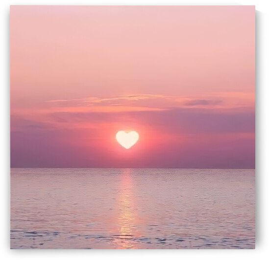 Heart Sunset by Anh Vong