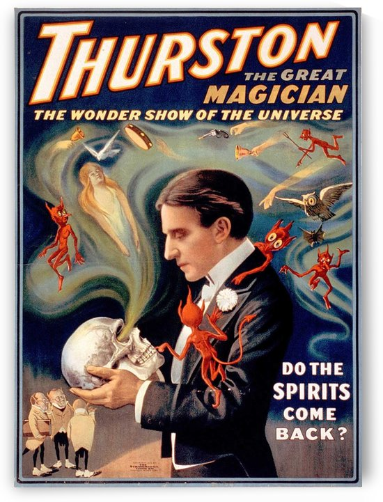 Thurston the Great Magician Vintage Poster by VINTAGE POSTER