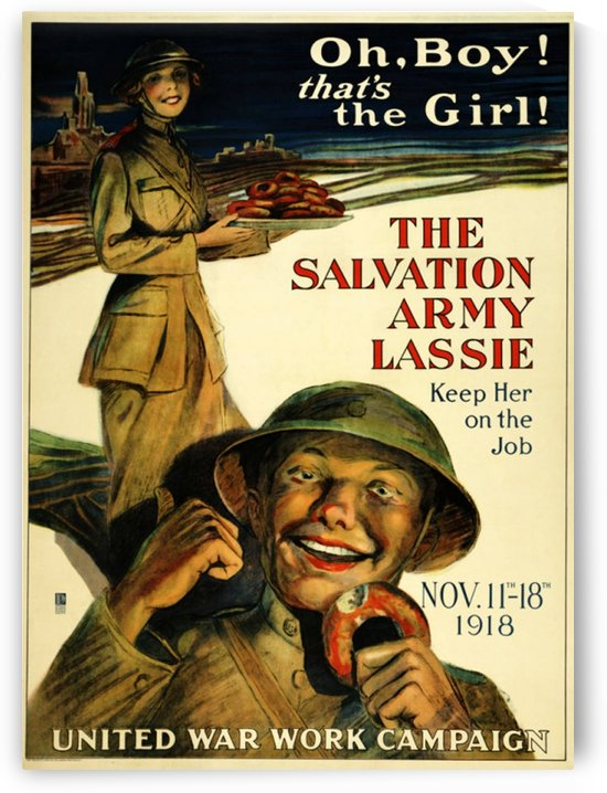 The Salvation Army Lassie Poster by VINTAGE POSTER