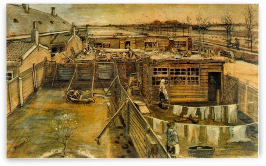 Workshop by Van Gogh by Van Gogh
