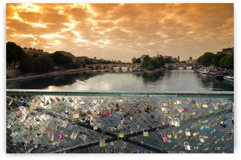 Padlocks of Love by Hassan Bensliman
