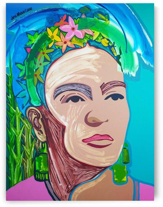 Frida nude by Jose Miguel Perez Hernandez
