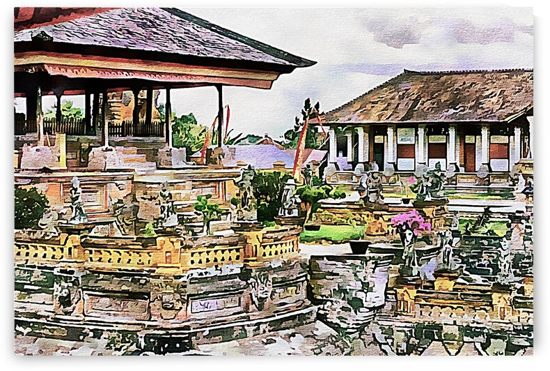 Balinese Temple 2 by Dorothy Berry-Lound