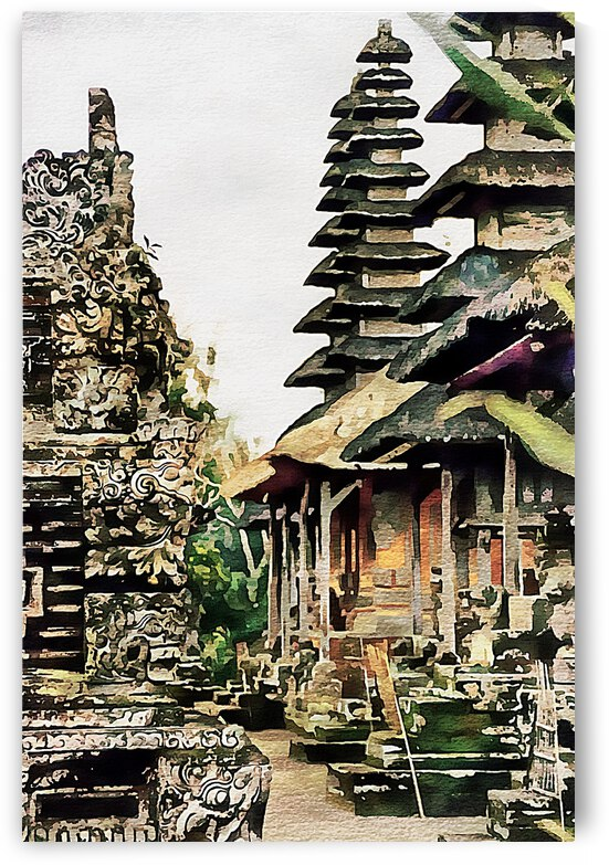 Balinese Temple 9 by Dorothy Berry-Lound