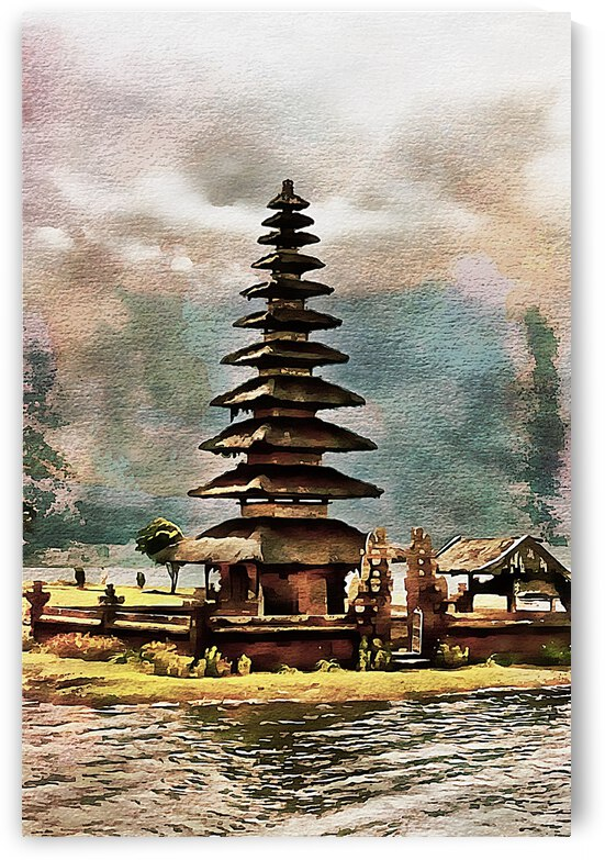 Balinese Temple 12 by Dorothy Berry-Lound