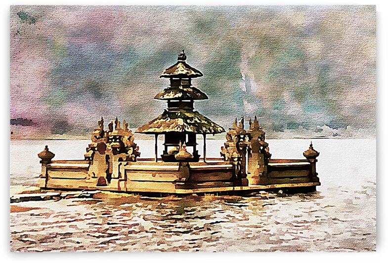 Balinese Temple 13 by Dorothy Berry-Lound