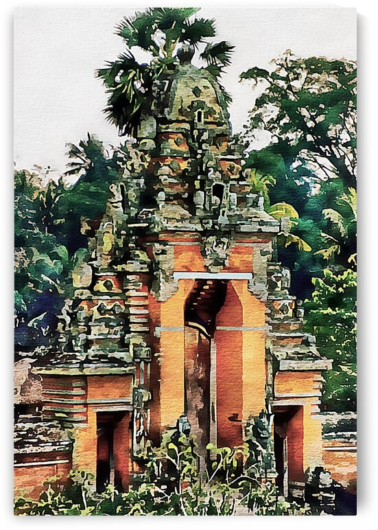 Balinese Temple 7 by Dorothy Berry-Lound