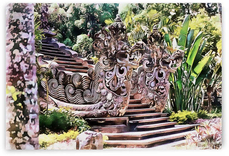 Balinese Temple 3 by Dorothy Berry-Lound