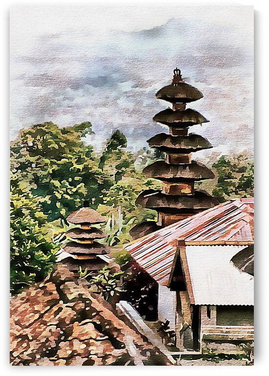 Balinese Temple 6 by Dorothy Berry-Lound