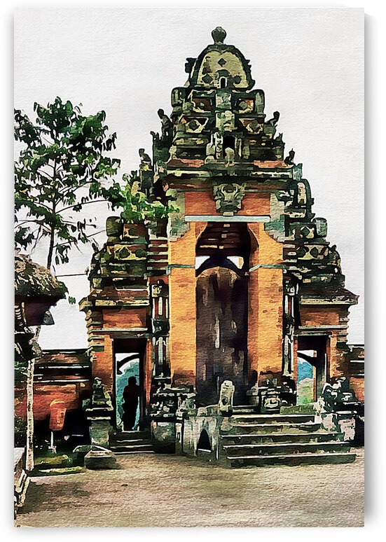 Balinese Temple 10 by Dorothy Berry-Lound