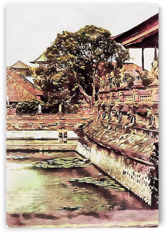 Balinese Temple  1 by Dorothy Berry-Lound