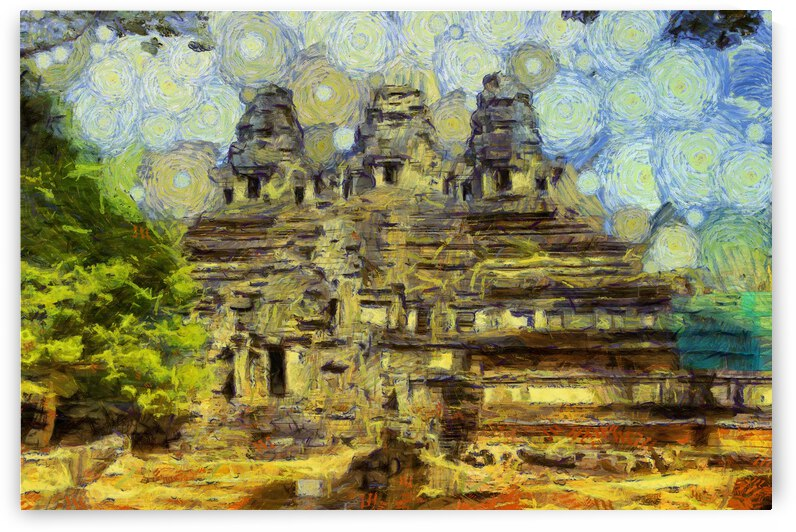 CAMBODIA 128 Angkor Wat  Siem Reap VincentHD by Cambodia painting