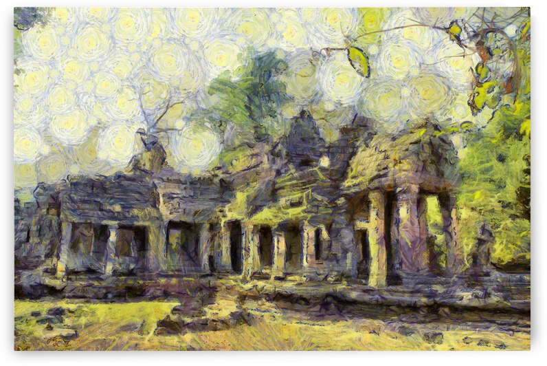 CAMBODIA 126 Angkor Wat  Siem Reap VincentHD by Cambodia painting