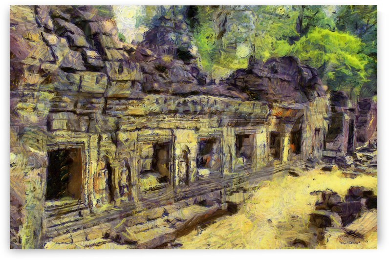 CAMBODIA 129 Angkor Wat  Siem Reap VincentHD by Cambodia painting