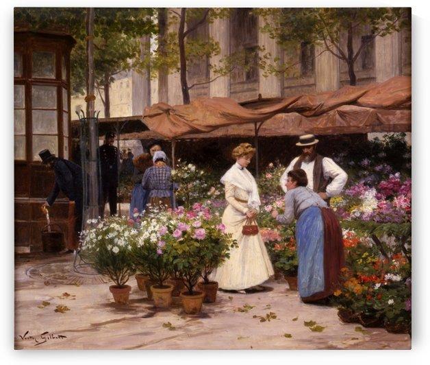 Marche aux Fleurs by Victor Gilbert