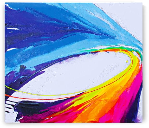 Abstract art britto QB297a by SIDINEI BRITO