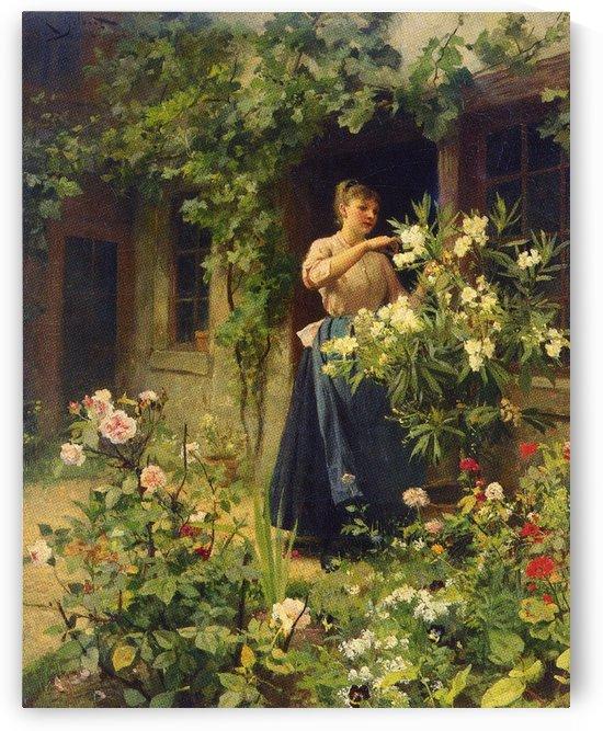 Gardening by Victor Gilbert
