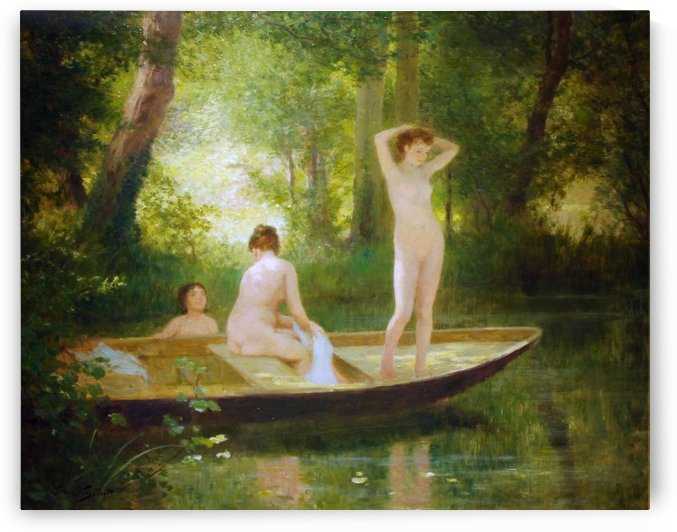 Les Baigneuses by Victor Gilbert