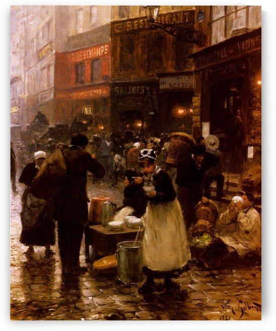 Le Jour De Marche by Victor Gilbert