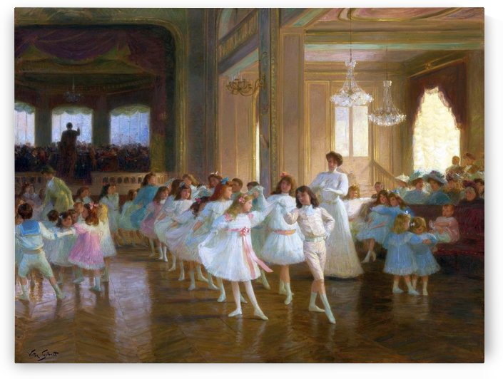Spectacle de danse by Victor Gilbert